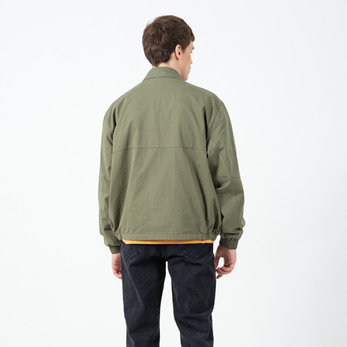 CONTEMPORARY CROP FIELD JACKET KHAKI