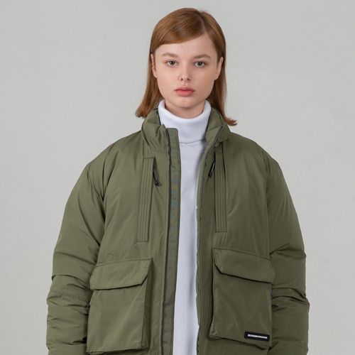 [세컨모놀로그] CONTEMPORARY AIR FORCE PADDING KHAKI