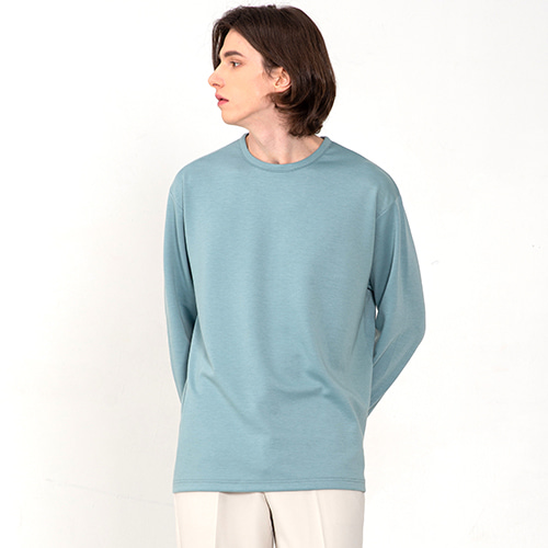 [3/13(금) 예약배송] [커스텀어클락] ESSENTIAL LONG SLEEVE T-SHIRTS MINT
