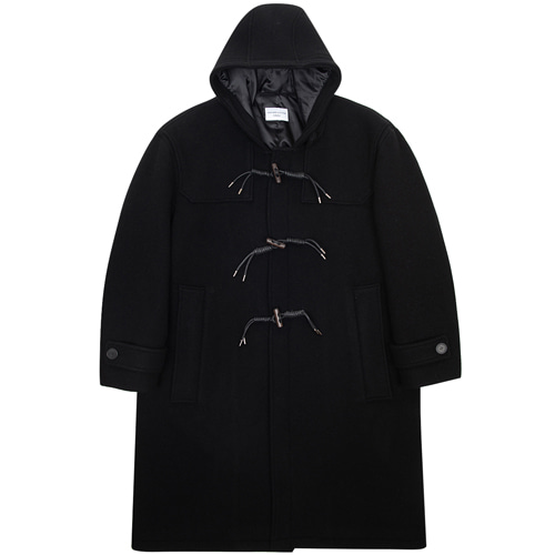 [커스텀어클락] 90s HEAVY WEIGHT WOOL DUFFEL COAT BLACK
