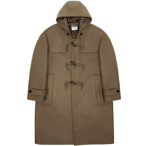 [커스텀어클락] 90s HEAVY WEIGHT WOOL DUFFEL COAT L.BROWN
