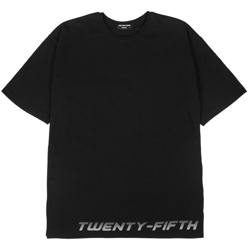 [THE 25th HOUR] 25th HOUR LAYERED SHORT SLEEVE T-SHIRT BKWH