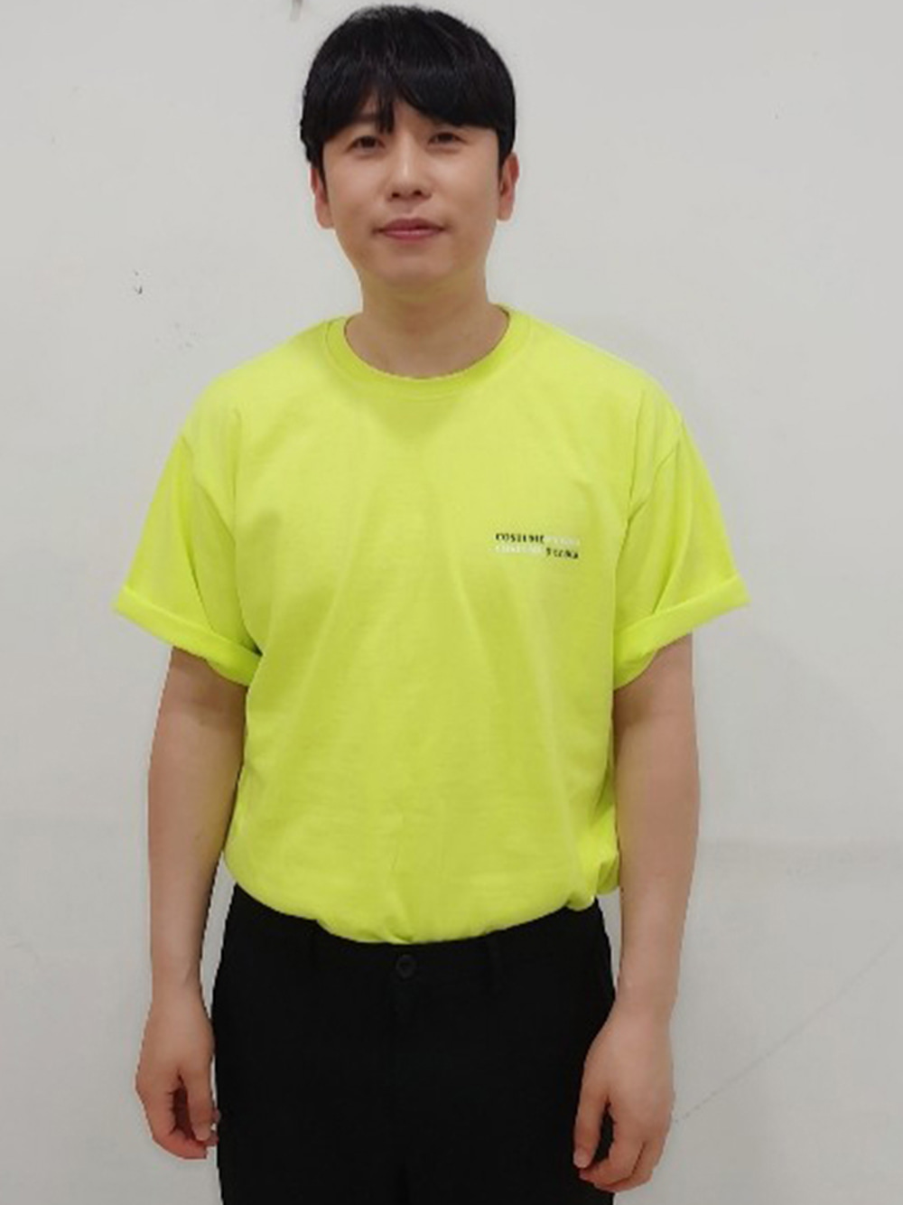 DOUBLE COSTUMEOCLOCK SHORT SLEEVE T-SHIRT FLUORESCENCE