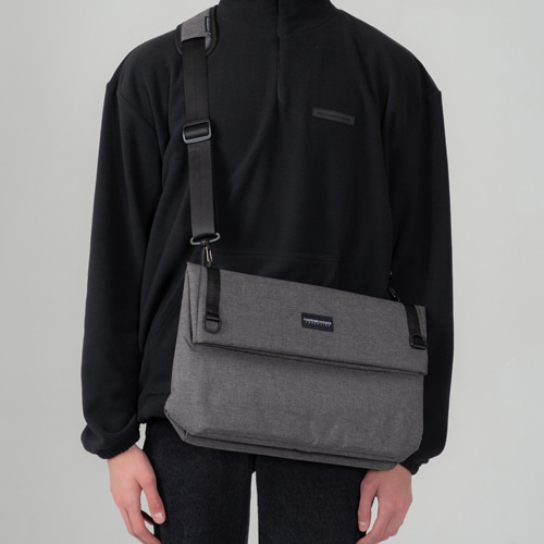 [커스텀어클락] MULTI Messenger Bag DARKGRAY