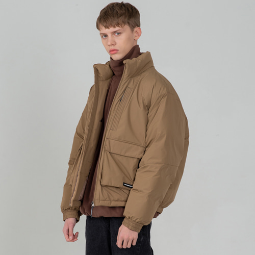 [세컨모놀로그] CONTEMPORARY AIR FORCE PADDING BEIGE