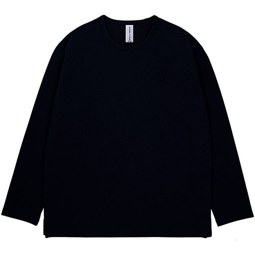 [3/5(목) 예약배송] [커스텀어클락] ESSENTIAL LONG SLEEVE T-SHIRTS NAVY