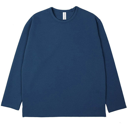[3/5(목) 예약배송] [커스텀어클락] ESSENTIAL LONG SLEEVE T-SHIRTS DARKBLUE