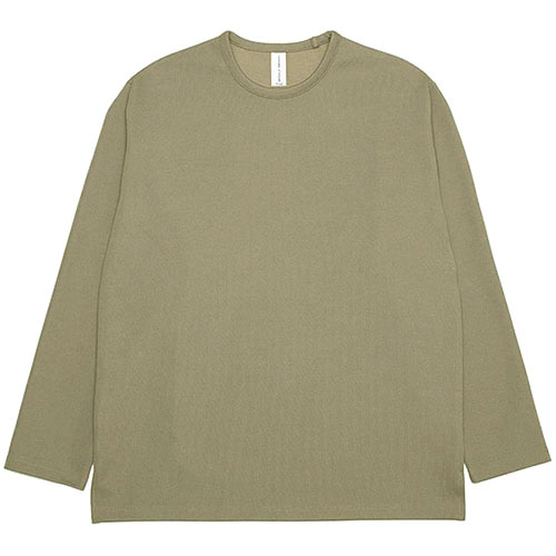 [3/5(목) 예약배송] [커스텀어클락] ESSENTIAL LONG SLEEVE T-SHIRTS DARKBEIGE